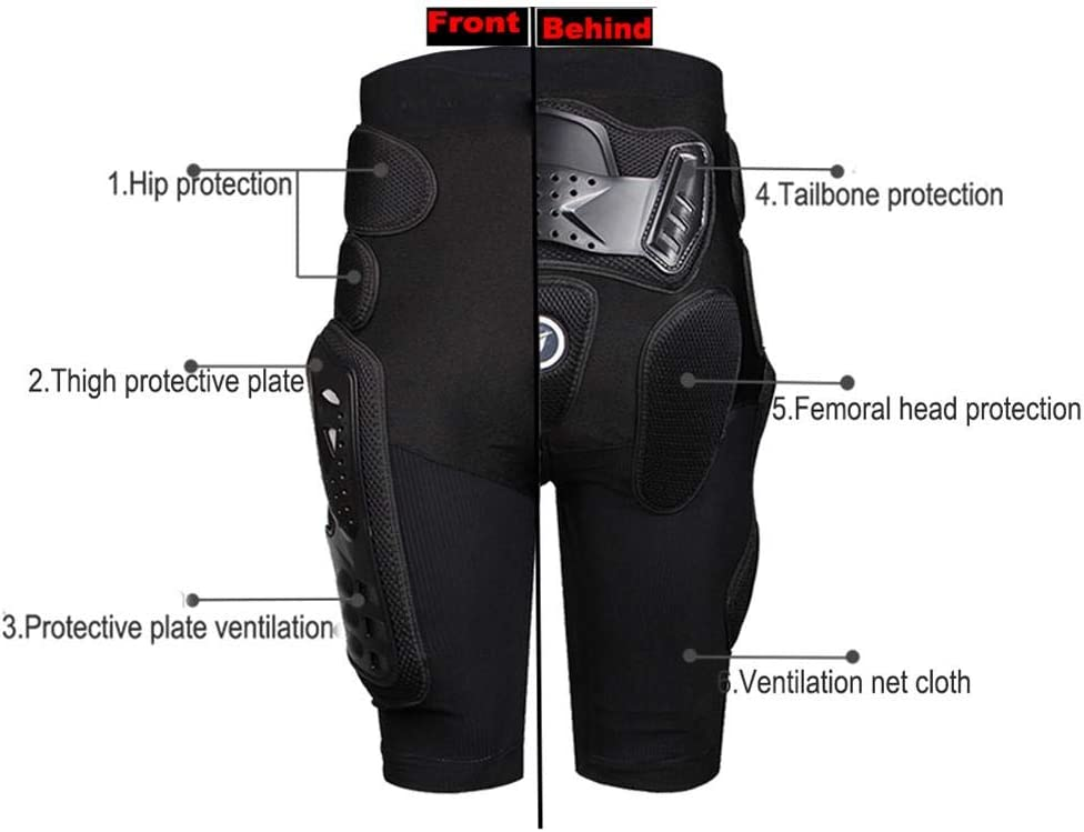 Pantalon /À La Hanche Et /À Larmure Incassables Funsquare Pantalon Moto Cross Tenue Moto Cross Combinaison Motocross