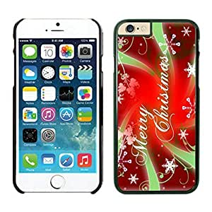 The Christmas Tree On Christmas Day Lovely Mobile Phone Protection Shell for iphone 6 Case-Unique Soft Edge Case(2015),Merry Christmas iPhone 6 Case 44 Black