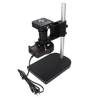 Cámara de microscopio industrial, microscopio digital de sensor de ...