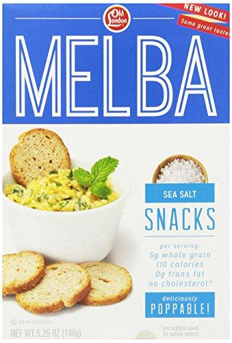 Old London, Melba Snacks, Sea Salt, 5.25 Ounce (pack of 12)