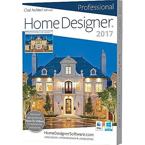 professional home design suite platinum. Chief Architect Home Designer Pro 2017 Landscape Design Software  Amazon com