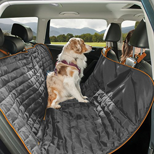 Product image of Kurgo Waterproof Reversible Loft Hammock Style Dog Car Seat Cover, Pet Seat Cover