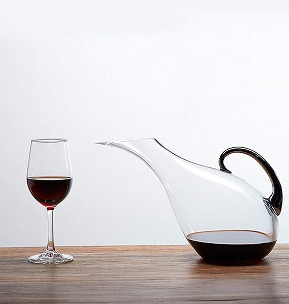 XINGUANG 2L Wine Decanter Sin Plomo Glass Glass Wine Jar Pot Jarra ...