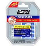 Orajel Touch-Free Cold Sore Treatment, with Applicator, 0.08oz, 4 Vials