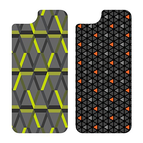 OtterBox My Symmetry Graphic Insert 2PK for iPhone 5/5s  - Triangle Orange and Tech Hex Green (Iphone 5s Case Inserts compare prices)