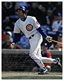 Ryne Sandberg Signed Autograph Chicago Cubs 11X14 Photo HOF 05 dropping bat - Certified Authentic