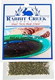 Rabbit Creek Products Pesto Bread Dipping Spice Mix, 0.25 Ounce (Pack of 12)