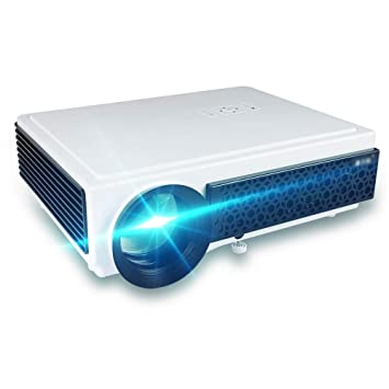 Amazon.com: Proyector 1080P, proyector nativo HD de 5000 lux ...