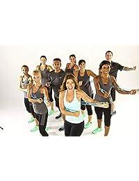 7 anillos elásticos y banda de resistencia para ejercicios de espalda, pierna, y estiramiento de mano, brazo