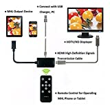 NAMEO MHL to HDMI Adapter, Micro USB to HDTV AV