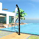 JAXPETY 7.2 FT Solar Heated Shower with