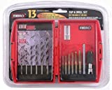 Mibro 873860 13 Piece Tap and Drill Set by Mibro