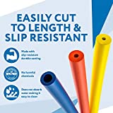 6-Pack of Foam Grip Tubing/Foam Tubing - Pefect for Utensils, Tools and More - BPA/Phthalate/Latex-Free