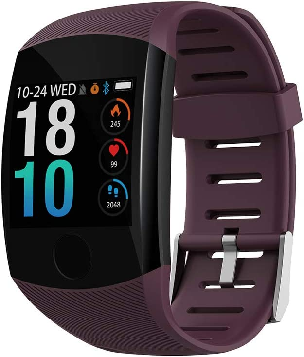 Smart Watch Ip67 Rilevazione Frequenza Cardiaca Monitoraggio del Sonno Pedometro Grande Schermo A Colori Orologio Touch Adatto per Uomini, Donne E Bambini iOS Android Smartwatch
