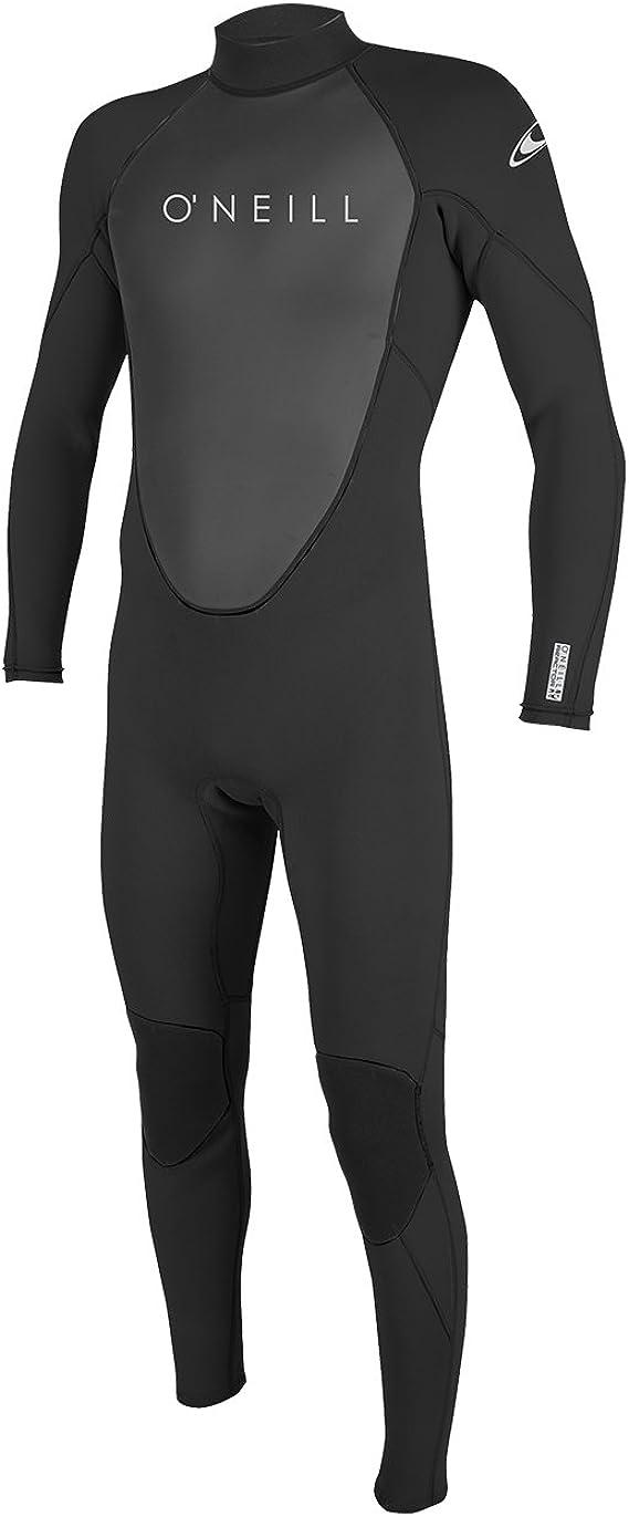Black Graphite 2020 O/'Neill Mens Reactor II 3//2mm Back Zip Wetsuit 5040