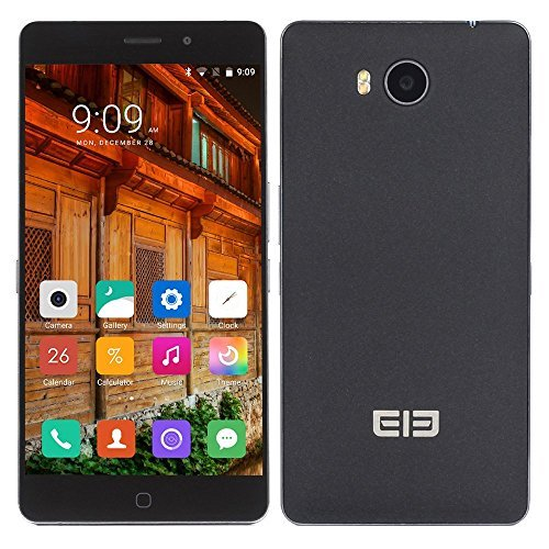 Elephone P9000 Lite 4G Phablet - BLACK 4GB RAM 32GB ROM Android 6.0 MTK6755 Octa Core 2.0GHz 5.5 inch FHD Screen 13.0MP Back Camera