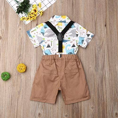 Amazon.com: Conjunto de 2 piezas para bebé niño niño traje ...