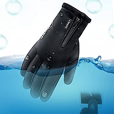 RIGWARL Winter Gloves Touch Screen Motorcycle Gloves Waterproof Gloves Cold Weather Cycling Gloves Skiing Snowboard For Men and Women