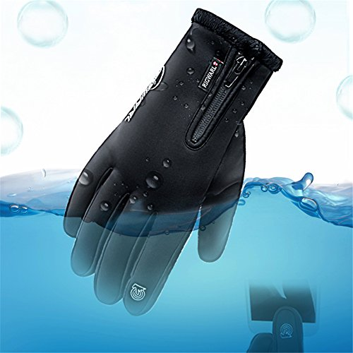 28742c1d0 Winter Gloves Touch Screen Motorcycle Gloves Waterproof Gloves Cold Weather  Cycling Gloves Skiing Snowboard For Men and Women