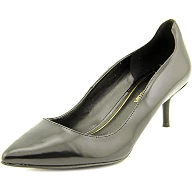 8ef47ecada Image Unavailable. Image not available for. Color: Enzo Angiolini Gevila Womens  Dress Pumps Black ...