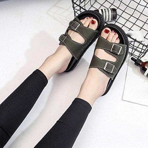 bb087774 ... Sandalias de vestir, Ouneed ® Bio zapatos de la vida mujeres mulas  zapatillas sandalias gruesas