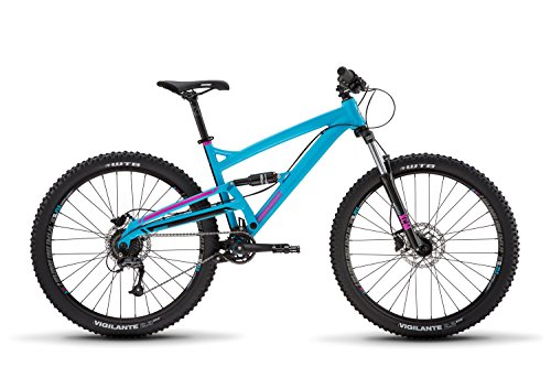Diamondback Bikes Atroz 2 Full Suspension Mountain Bike Frame, Blue, 18