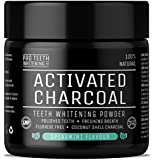 Activated Charcoal Natural Teeth Whitening Powder Spearmint Flavour by Pro Teeth Whitening Co® | Manufactured in the UK