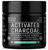 Activated Charcoal Natural Teeth Whitening Powder Spearmint Flavour by Pro Teeth Whitening Co | Manufactured in The UK