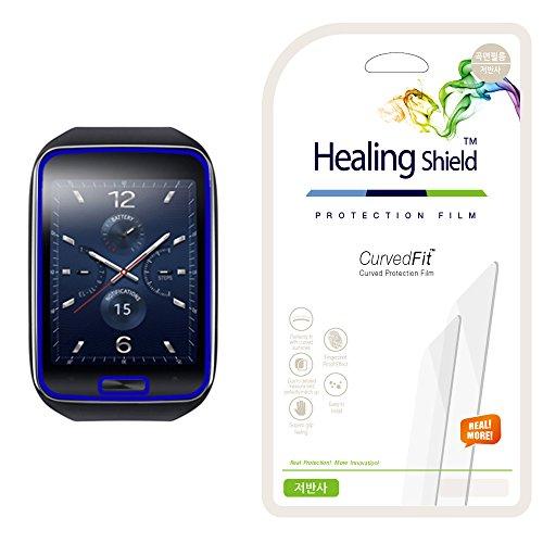 Healingshield Samsung Gear S Matt(Anti-Glare, Anti-Finger print) Type Full Cover Screen Protector [Front 3pcs]