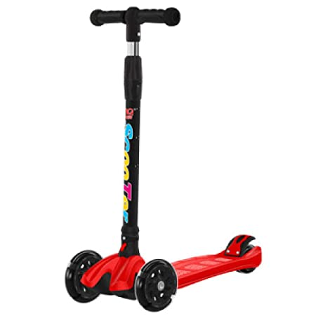 Scooter para Niños Mini Patinete Scooter con Parpadeo De ...
