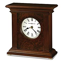 Jewelry Adviser Gifts Andover Cherry Finish Quartz Mantel Clock