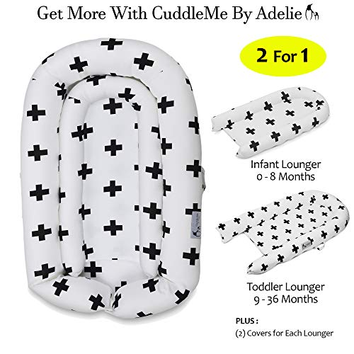 CuddleMe Lounger, Sleeper, Co Sleeping - Perfect for Newborn Baby Shower Registry - Infant and Toddler (Suitable for 0-36 Months) - Additionally