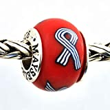 Lou Gehrig ALS Beads/Charm .925 Sterling Silver Hand crafted in the USA by MAYselect Size Large Bead