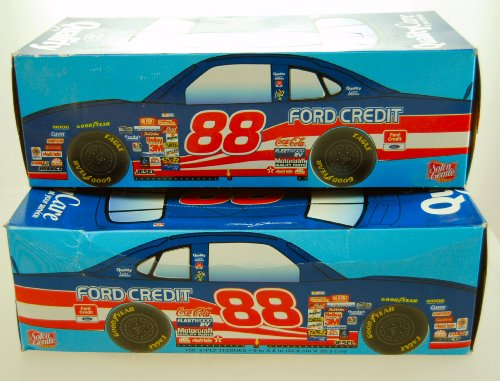 Fort James   Soft  N Gentle Ultra Tissues 150 2 Ply   Nascar   Dale Jarrett  88   Ford Taurus   Quality Care   Ford Credit   Set Of 2 Boxes   Out Of Production   Limited Edition   Collectible