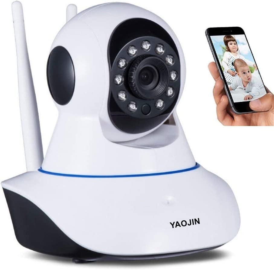 YAOJIN W8 720p HD WiFi Wireless IP Security Camera CCTV