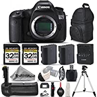 Canon EOS 5DS R DSLR Camera Body Full-Frame + Battery Grip + Extra Backup Battery + 2 Of 32GB Class 10 Memory Card + Wrist Grip Strap. All Original Accessories Included - International Version