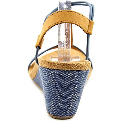 Indigo Style Co Compensés Synthétique Sandales Femmes amp; Mula 0g0qwP