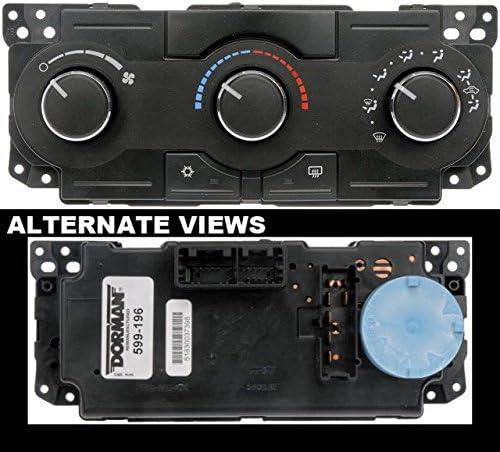 APDTY 600207 Climate Control Module Dashboard AC Heat Control Head