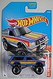 Hot Wheels 2017 HW Hot Trucks Chevy Blazer 4X4 34/365, Blue