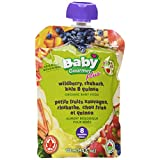Baby Gourmet Wild Berry Rhubarb Kale and Quinoa Pack of 12