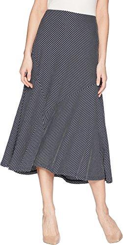 White Twirl Skirt - Chaps Women's Laurel Full Skirt Capri Navy/White Small