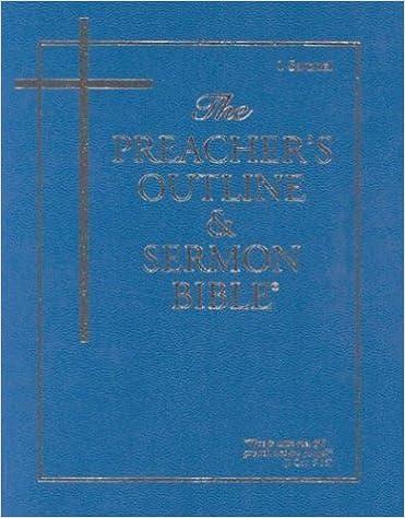 Preacher's Outline & Sermon Bible-KJV-1 Samuel by Leadership Ministries Worldwide (2003-09-01)