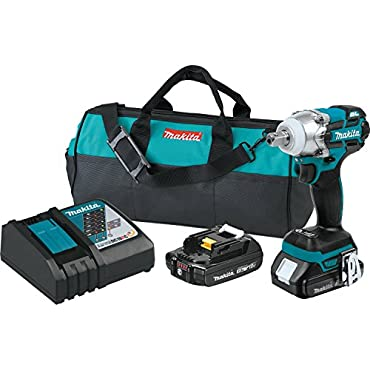 Makita XWT11R 18V LXT Compact Brushless 3-Speed 1/2 Impact Wrench Kit