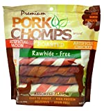 Cheap Premium Pork Chomps Twistz Assorted Bacon, Roasted & Chicken, Large 12Ct
