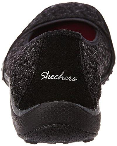 Skechers Breath Easy Pretty Face - punta cerrada Mujer negro - negro