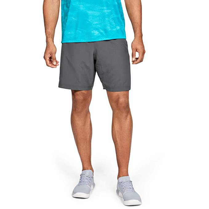 Under Armour Mens Woven Graphic Short Ultra-Light and Comfortable Mens Jogger Shorts X-Large Breathable and Durable Running Shorts Blue