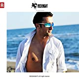 ROCKNIGHT Driving Polarized Sunglasses For Men UV Protection Ultra Lightweight Al Mg Golf Fishing Sports Sunglasses