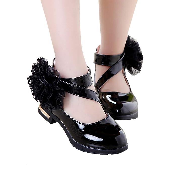 Amazon.com: ❤️ ️ Mealeaf ❤️️ Zapatos de piel, flores ...
