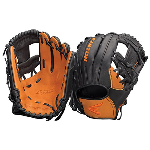 - Easton Future Legend Series FL1125BKTN Right Hand Throw 11.25 in Youth Infield Pattern