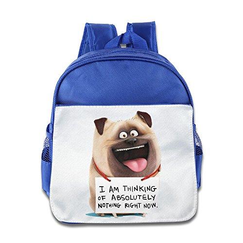 MoMo Unisex The Secret Life Of The MEL Children School Bag For Little Kids